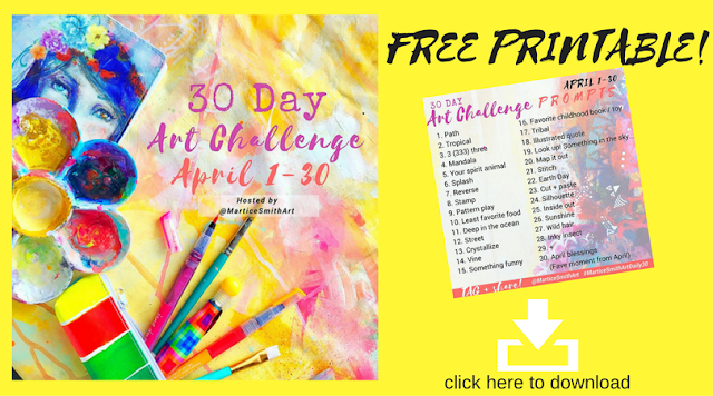 DOWNLOAD April Art Challenge Prompts