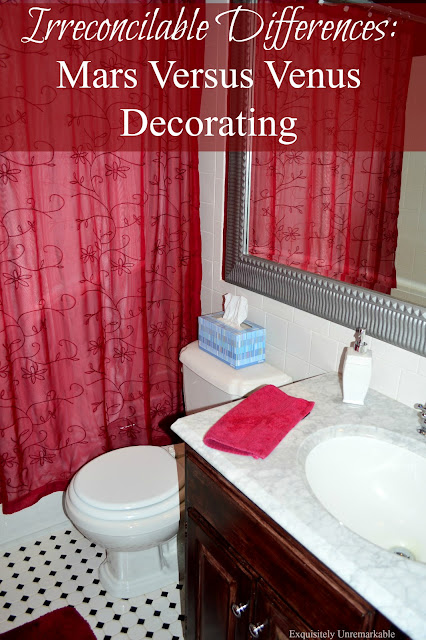 decorating styles often differ between men and woman