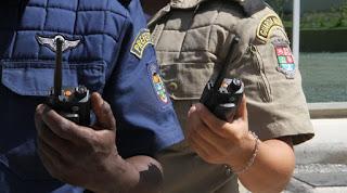 Guarda Municipal de Niterói (RJ) recebe rádios usados em Olimpíada