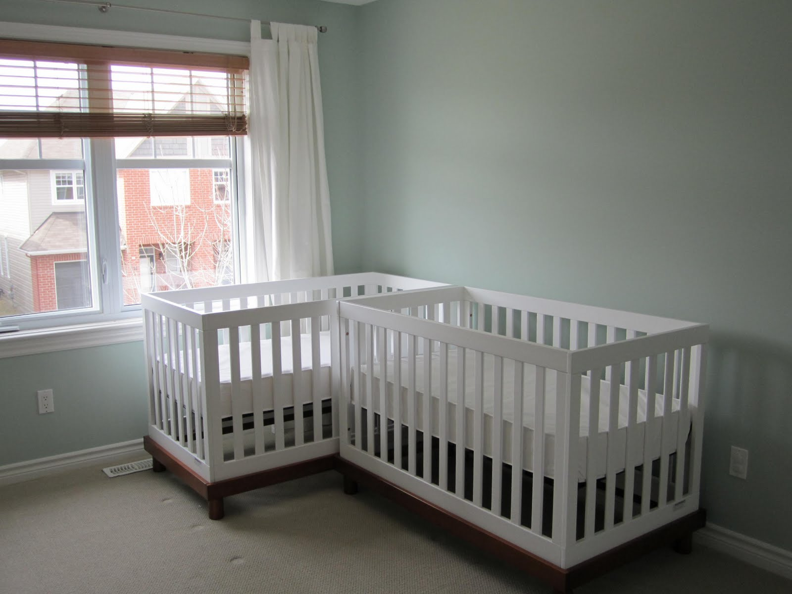 Double Crib For Twins Twins Baby Twin Cot Tw C13 Twins