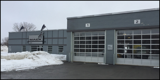 Mack Trucks Laval, Quebec, Canada Dealership
