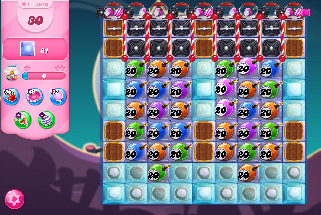 Candy Crush Saga level 5976