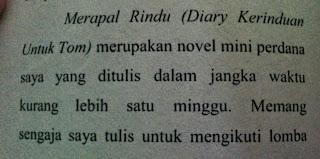 diary rindu