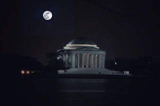 Full moon night in DC