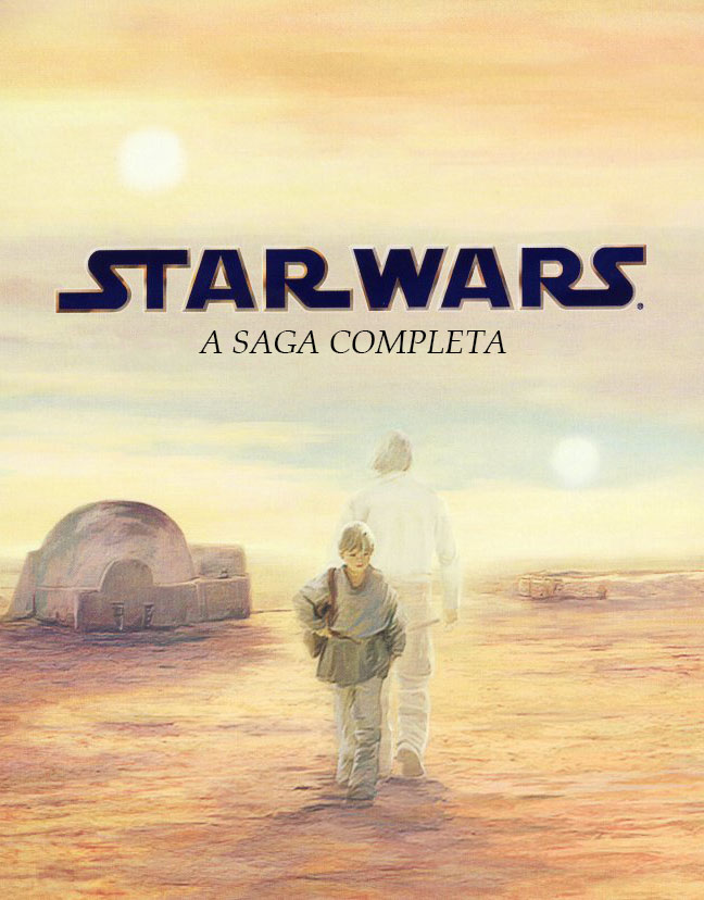 Star Wars: A Saga Completa Torrent - Blu-ray Rip 1080p Dublado (1977-2005)
