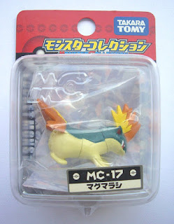 Quilava figure Takara Tomy Monster Collection MC series