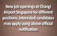 Jobs in Changi International Airport Singapore