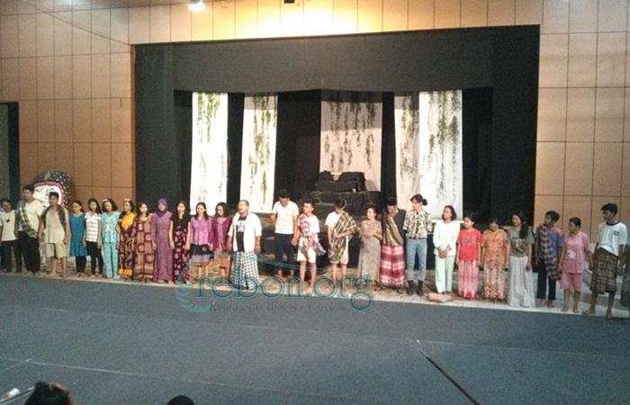 Pementasan Baridin Ratmiah di Event Gotrasawala, Bius Muda Mudi Cirebon