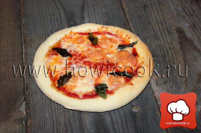 """рецепт Пицца """"Маргарита"""" от Дженнаро Контальдо пошаговые фото"""