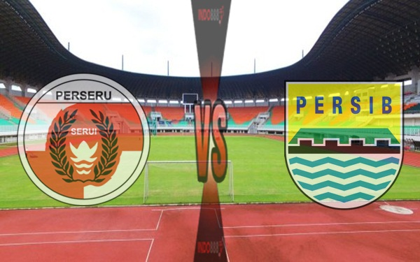 Persib VS Perseru Liga 1 Gojek Traveloka