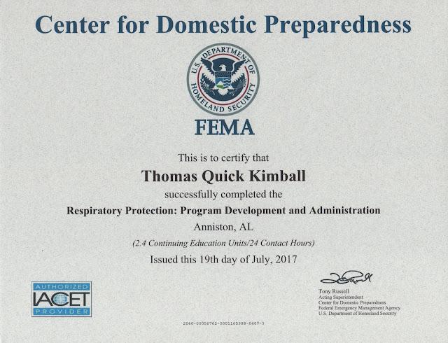 thomas quick kimball wa8uns blog : respiratory protection: program ...
