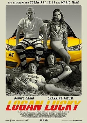 Logan Lucky - Roubo em Família Torrent torrent download capa
