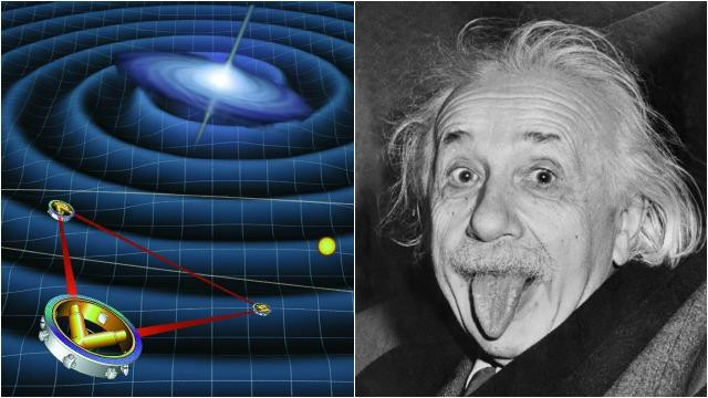 gravitational waves detected confirming einstein theory