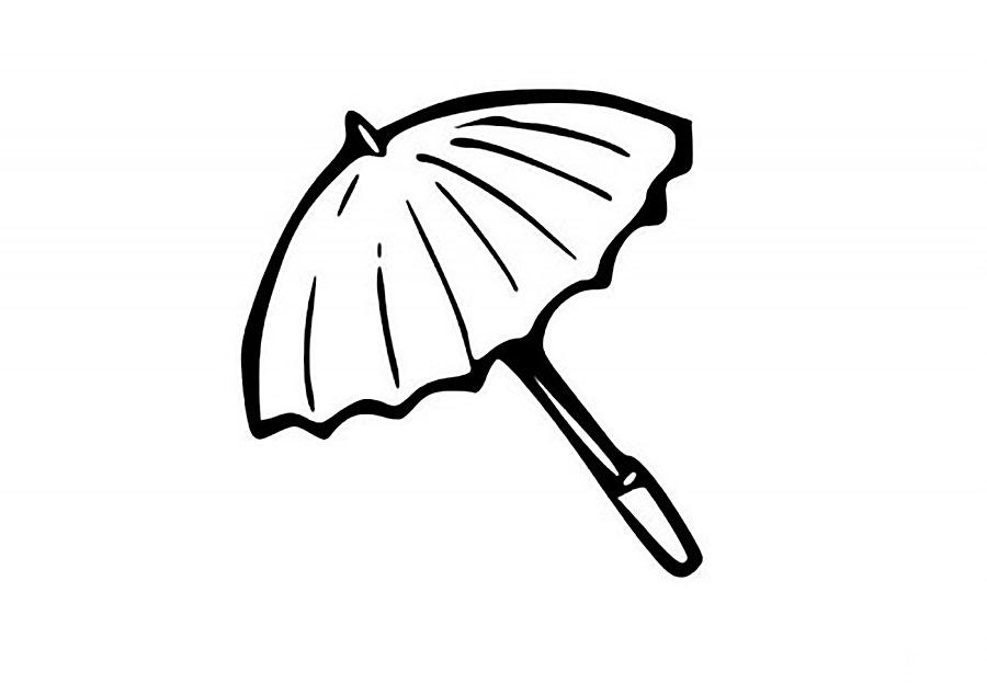 Gambar Mewarnai Payung Untuk Anak Paud Dan Tk