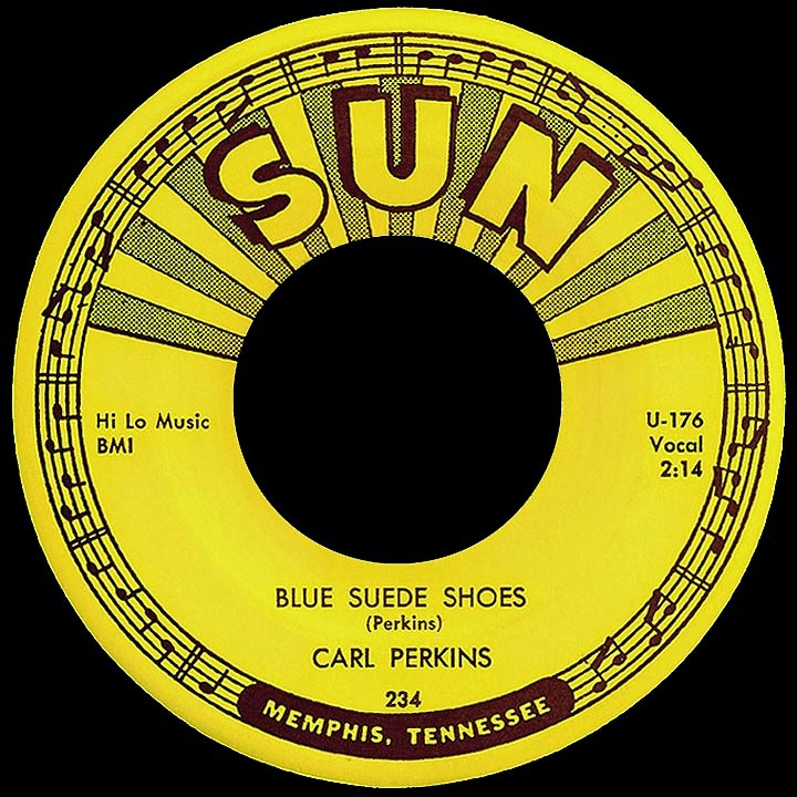Carl Perkins. Blue Suede Shoes