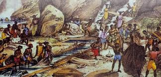 As primeiras descoberta de ouro e de diamantes do Brasil