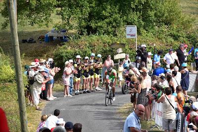 Les Dalton's au Tour du Limousin