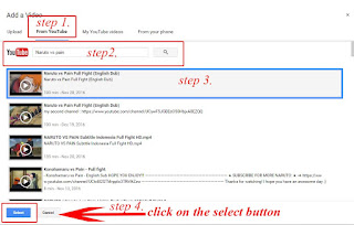 how to embed a video in blogger post