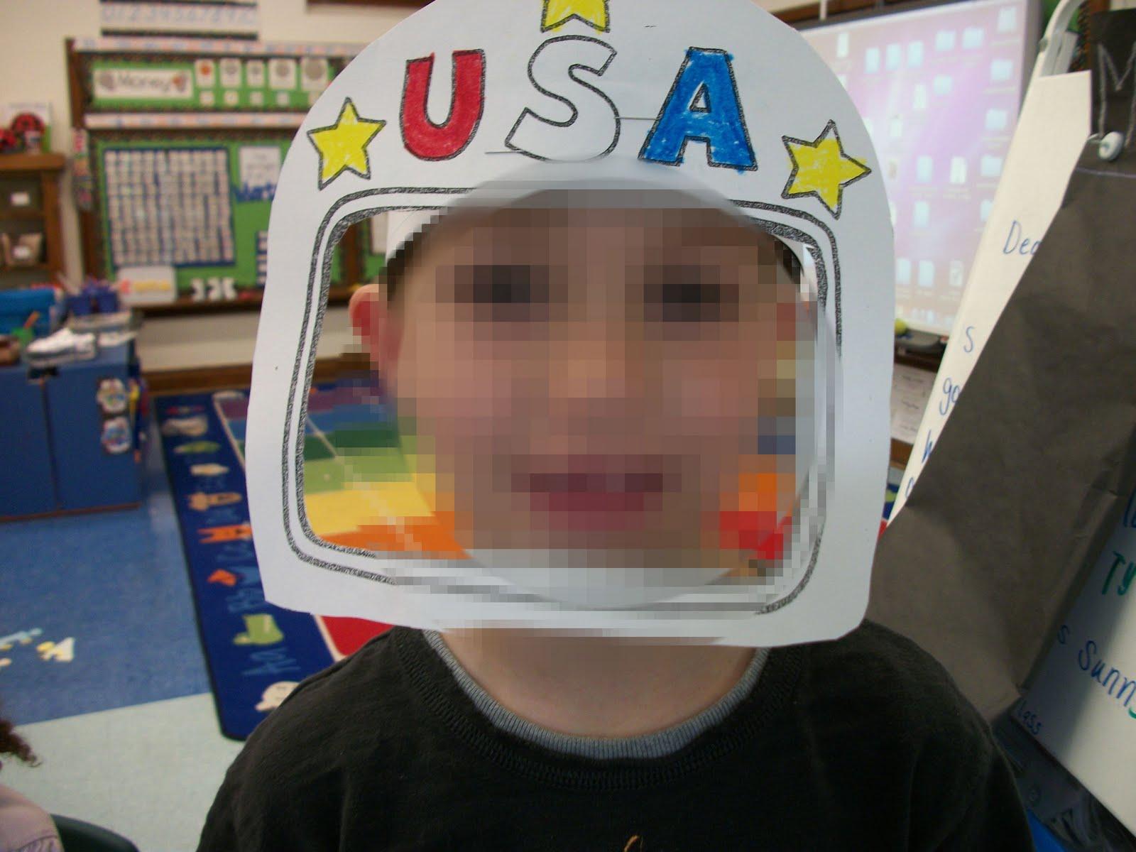 astronaut helmet craft preschool - photo #18