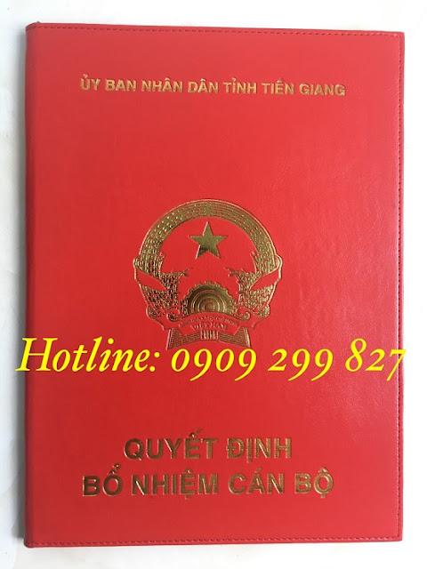 Mẫu bìa đựng tốt nghiệp chất lượng và sang trọng nhất - 0909 299 827 7