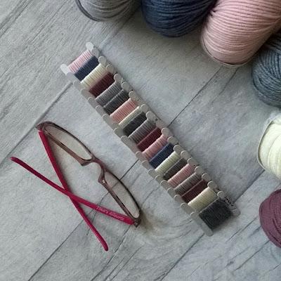 Tina's Allsorts, Merino Stripey Blanket