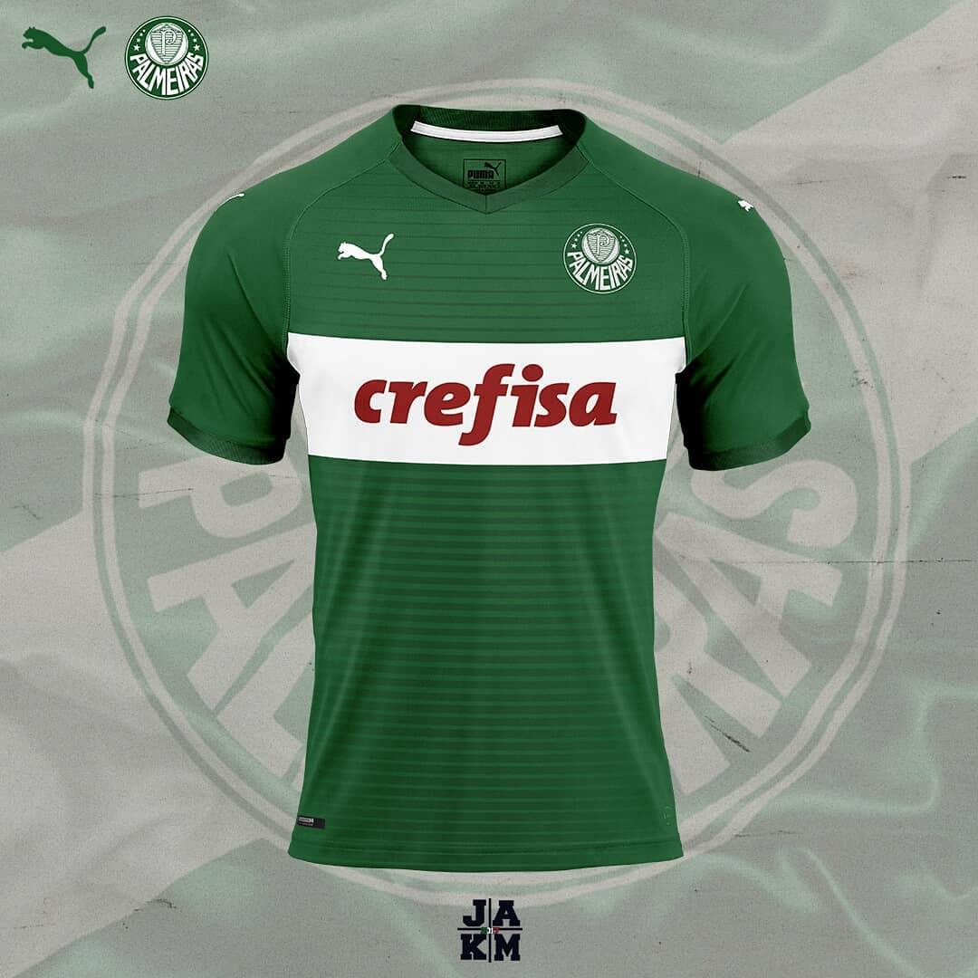 E se fosse assim - Sociedade Esportiva Palmeiras (SP) - Show de Camisas 7941654c30239