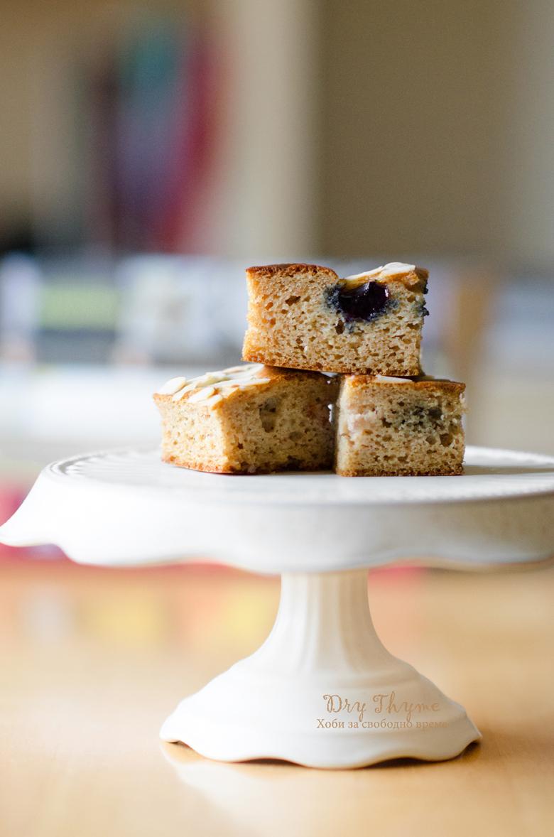 палео кекс с бадемово брашно