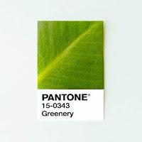 verde Pantone Greenery tendencia 2017