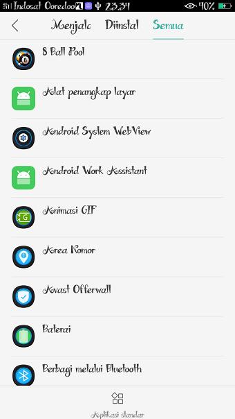 menghapus riwayat login di webview hp Android