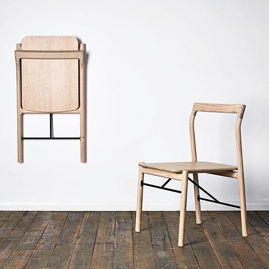 8 contoh desain inspiratif kursi lipat dari kayu