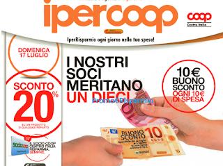 Logo Spendi 10 e riprendi un buono sconto da 10 euro