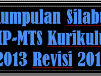 SILABUS REVISI 2017 SMP-MTS KURIKULUM 2013 LENGKAP SEMUA MAPEL