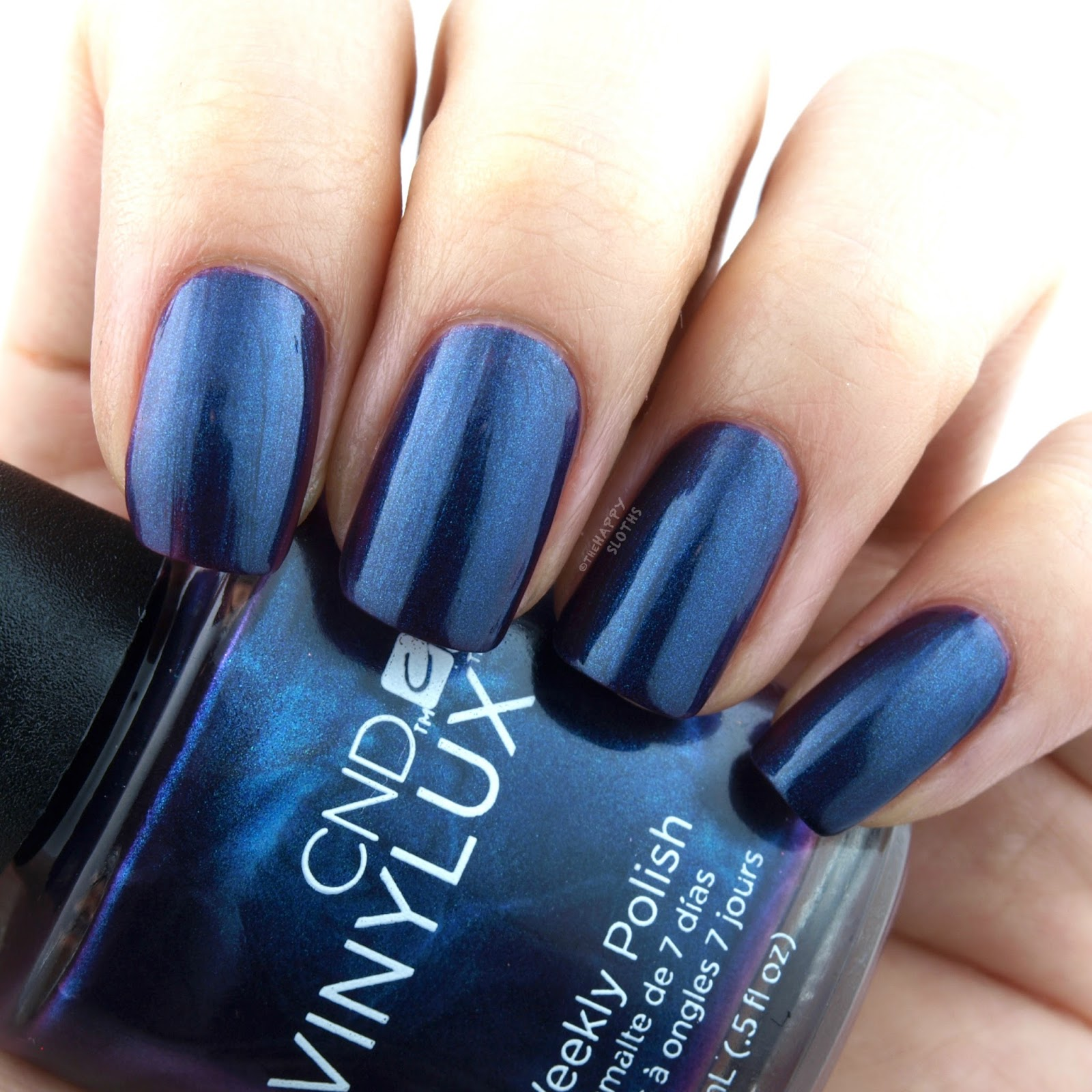 CND Fall 2017 Nightspell Collection | Eternal Midnight: Review and Swatches