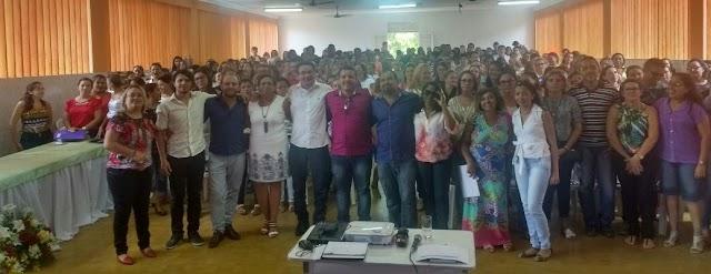 Prefeito Lielson Landim abre Jornada Pedagógica e anuncia reajuste de 8% para professores