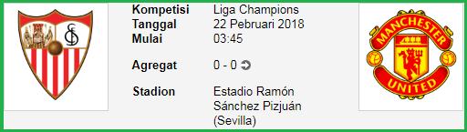 Kemenangan sebuah tips bola akan ditentukan ketika satu akun didaftarkan dikala ini juga  Sevilla Vs Manchester United