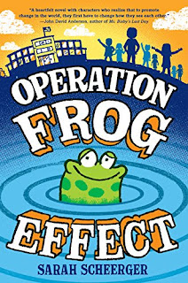 OPERATION FROG EFFECT ~ Sarah Scheerger's Debut Author Spotlight #NewBook #20Questions at Operation Awesome