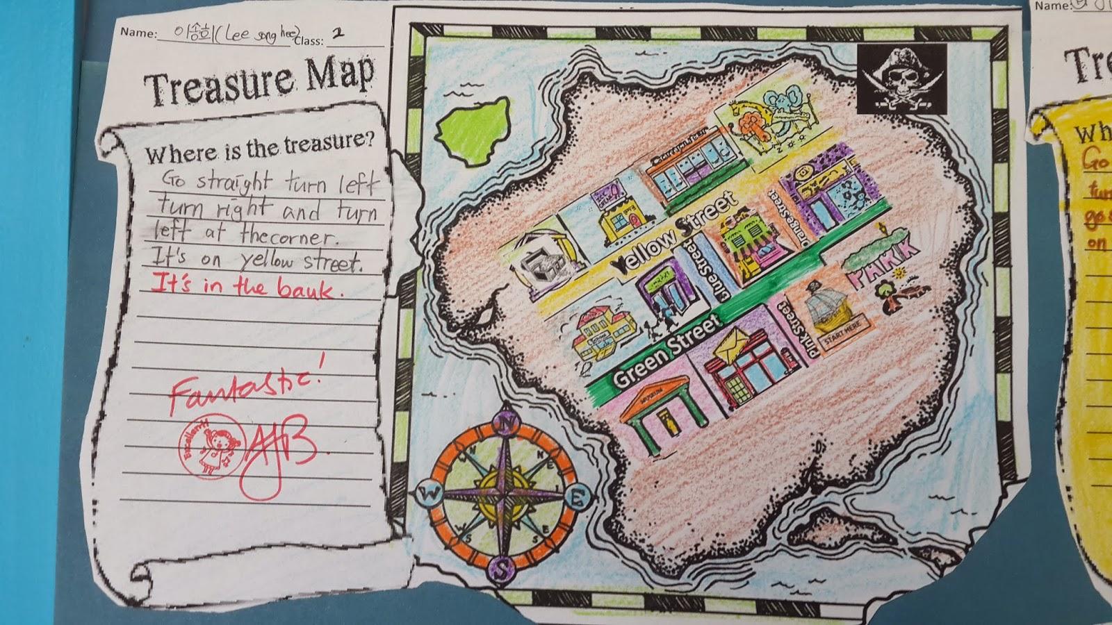 Making Treasure Maps