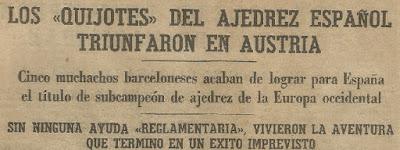 Quijotes del Ajedrez