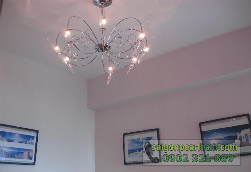 Bán căn hộ Saigon Pearl tòa nhà Ruby2 - đèn trần đẹp