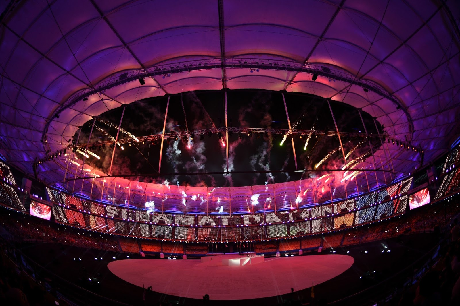 Asian games opening ceremony video can discussed