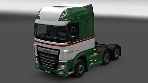 Legro Transport skin for DAF Euro 6