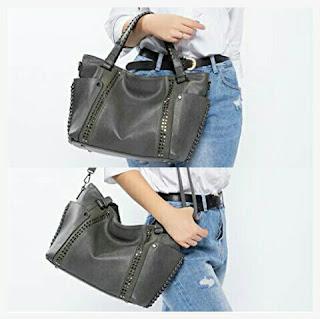 Realer Ladies Handbag - Women's PU Leather Shoulder Bag