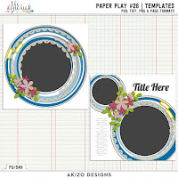 template : Paper Play26 by Akizo Designs