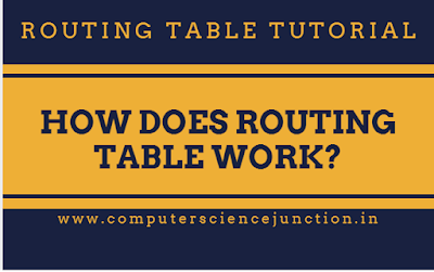 routing table in networking