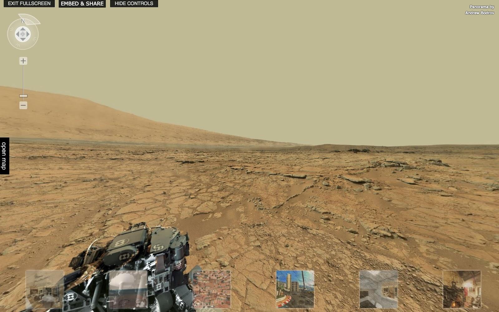 Két gigapixeles panoráma a Marsról