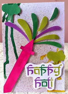 Holi Greetings Cards