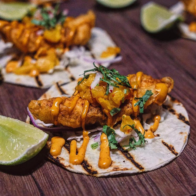 Snapper Fish Tacos