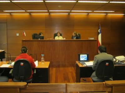 Juicio penal en Chile
