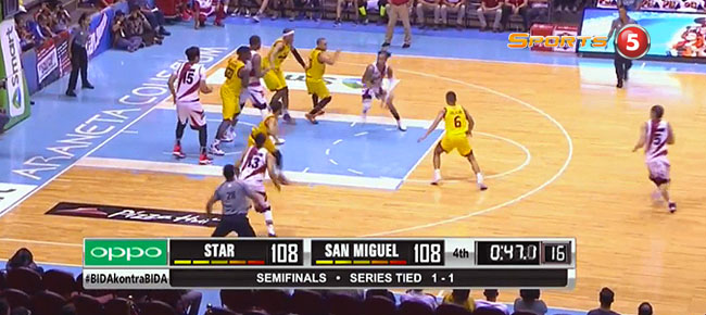 San Miguel def. Star Hotshots, 111-110 (REPLAY VIDEO) Semis Game 3 / June 14