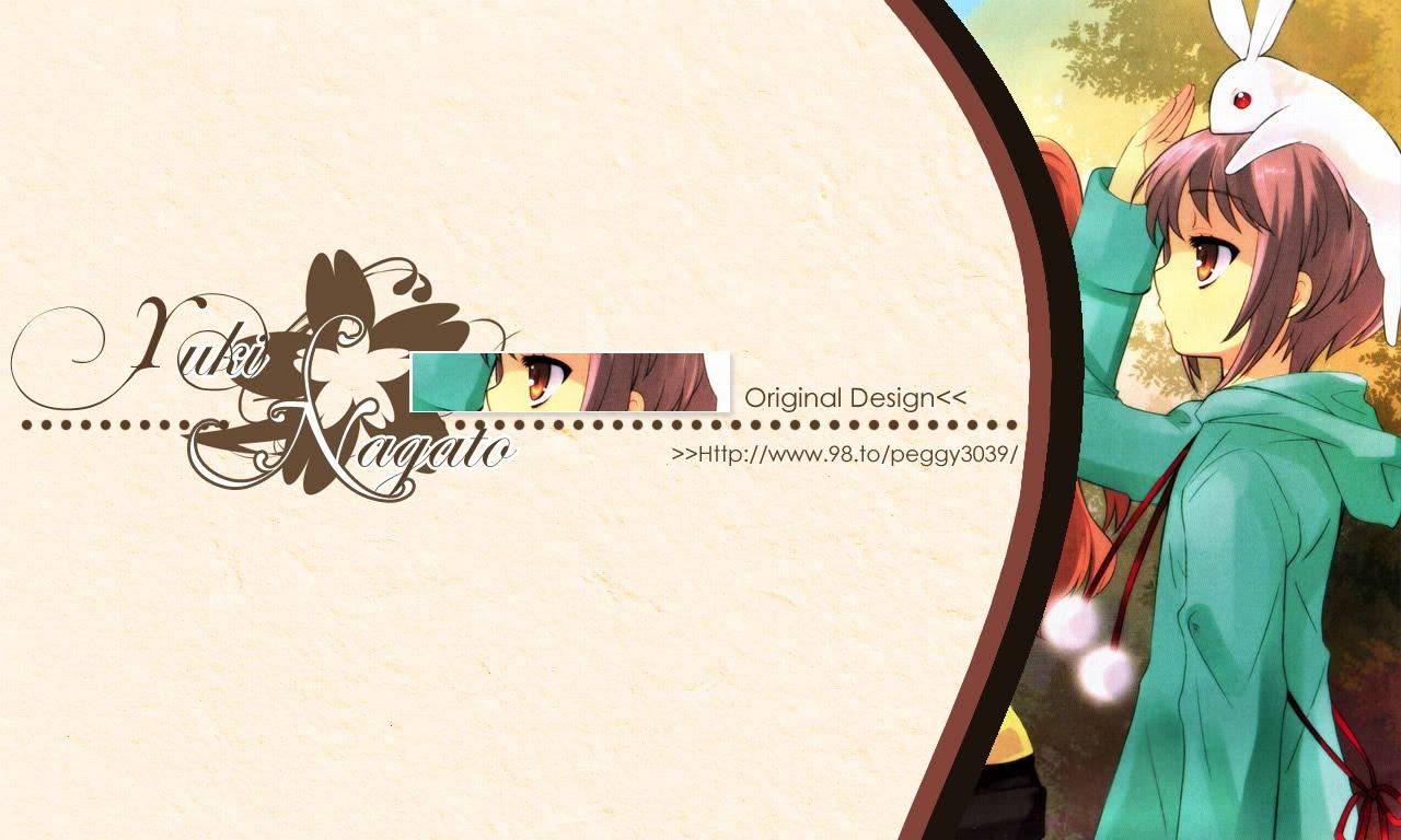 My Own Style 分享 涼宮春日系列自製桌布